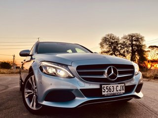 2017 Mercedes-Benz C-Class S205 807+057MY C200 d Estate 7G-Tronic + Diamond Silver 7 Speed