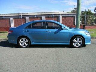 2010 Toyota Camry ACV40R MY10 Sportivo Blue 5 Speed Manual Sedan.