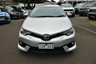 2016 Toyota Corolla ZRE182R SX S-CVT Silver 7 Speed Constant Variable Hatchback