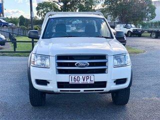 2008 Ford Ranger PJ XL White 5 Speed Manual Utility.