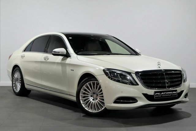 Used Mercedes-Benz S-Class V222 S600 L SPEEDSHIFT PLUS Bayswater, 2014 Mercedes-Benz S-Class V222 S600 L SPEEDSHIFT PLUS White 7 Speed Sports Automatic Sedan