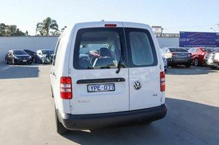 2011 Volkswagen Caddy 2KN MY11 TDI250 Maxi DSG White 7 Speed Sports Automatic Dual Clutch Van
