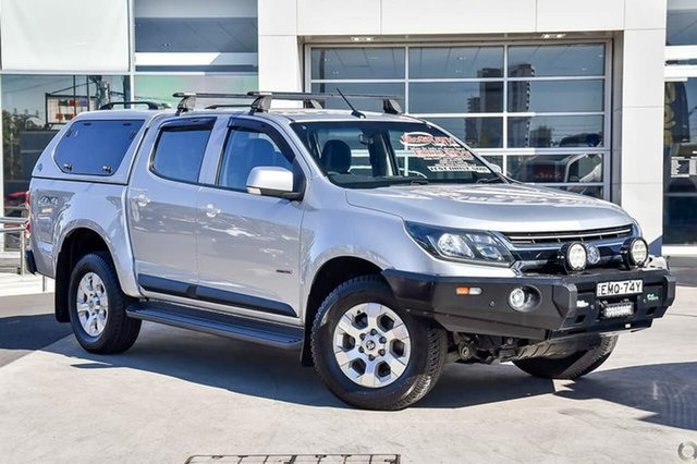 Used Holden Colorado RG MY18 LS Pickup Crew Cab 4x2 Liverpool, 2017 Holden Colorado RG MY18 LS Pickup Crew Cab 4x2 Silver 6 Speed Sports Automatic Utility