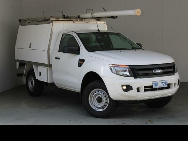 Used Ford Ranger PX MkII XL 2.2 Hi-Rider (4x2) Fyshwick, 2015 Ford Ranger PX MkII XL 2.2 Hi-Rider (4x2) 6 Speed Manual Cab Chassis