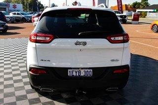 2015 Jeep Cherokee KL MY15 Longitude White 9 Speed Sports Automatic Wagon.