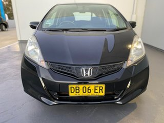 2013 Honda Jazz GE MY13 Vibe Black 5 Speed Automatic Hatchback.