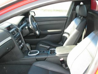 2008 Holden Ute VE SV6 60th Anniversary Red 5 Speed Automatic Utility