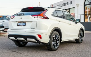 2020 Mitsubishi Eclipse Cross YB MY21 Exceed 2WD White 8 Speed Constant Variable Wagon