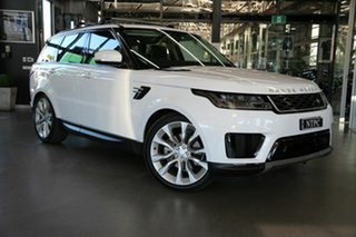 2018 Land Rover Range Rover Sport L494 19MY SE White 8 Speed Sports Automatic Wagon.
