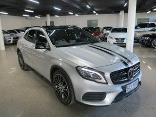 2018 Mercedes-Benz GLA-Class X156 808+058MY GLA250 DCT 4MATIC Silver 7 Speed.
