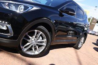 2015 Hyundai Santa Fe DM Series II (DM3) Highlander CRDi (4x4) Black 6 Speed Automatic Wagon.