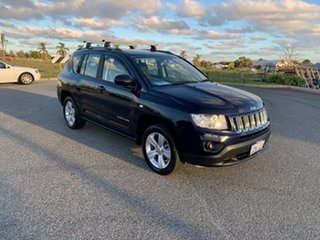2013 Jeep Compass MK MY12 Sport (4x2) Blue Continuous Variable Wagon.