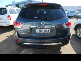 2014 Nissan Pathfinder R52 ST (4x2) Grey Continuous Variable Wagon