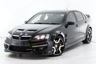 2009 Holden Special Vehicles GTS E Series MY09 Black 6 Speed Manual Sedan.