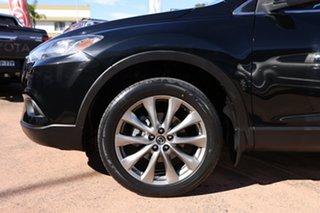 2015 Mazda CX-9 MY14 Grand Touring Black 6 Speed Auto Activematic Wagon.