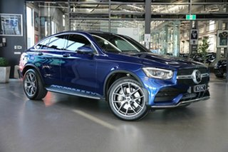 2019 Mercedes-Benz GLC-Class C253 800MY GLC300 Coupe 9G-Tronic 4MATIC Blue 9 Speed Sports Automatic.