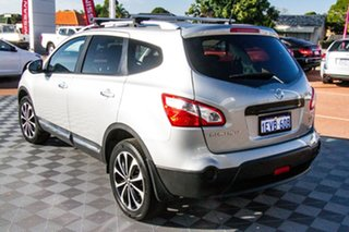 2012 Nissan Dualis J10 Series II MY2010 +2 X-tronic AWD Ti Silver 6 Speed Constant Variable.