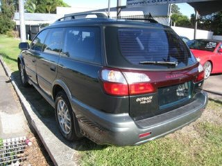 2003 Subaru Outback MY03 H6 Green 4 Speed Automatic Wagon