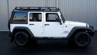2012 Jeep Wrangler JK MY2013 Unlimited Sport White 6 Speed Manual Softtop.