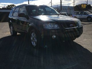 2006 Ford Territory SY TS Black 4 Speed Sports Automatic Wagon.