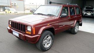 2001 Jeep Cherokee XJ Classic Maroon 4 Speed Automatic Wagon.