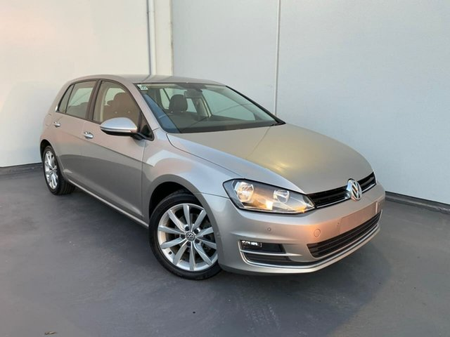 Used Volkswagen Golf VII MY16 110TSI DSG Highline Liverpool, 2015 Volkswagen Golf VII MY16 110TSI DSG Highline Silver 7 Speed Sports Automatic Dual Clutch