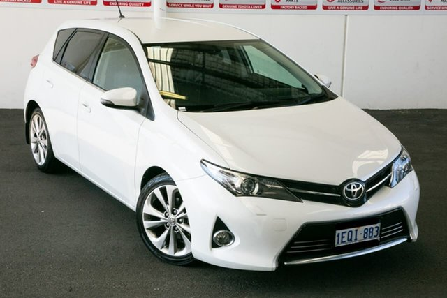 Pre-Owned Toyota Corolla ZRE182R Levin ZR Myaree, 2014 Toyota Corolla ZRE182R Levin ZR Crystal Pearl 7 Speed CVT Auto Sequential Hatchback