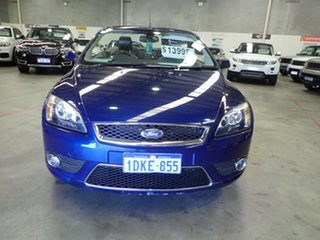 2008 Ford Focus LV Coupe-Cabriolet Electric Blue 4 Speed Automatic Cabriolet.