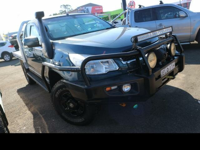 Used Holden Colorado RG MY15 LS (4x4) Kingswood, 2015 Holden Colorado RG MY15 LS (4x4) Blue 6 Speed Automatic Space Cab Chassis