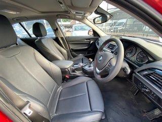 2015 BMW 1 Series F20 LCI 120i Steptronic Sport Line Crimson Red 8 Speed Sports Automatic Hatchback