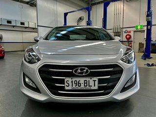 2016 Hyundai i30 GD4 Series II MY17 Active X Sleek Silver 6 Speed Sports Automatic Hatchback.