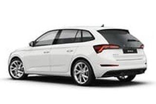 2020 Skoda Scala NW MY21 110TSI DSG Moon White 7 Speed Sports Automatic Dual Clutch Hatchback.