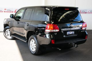 2008 Toyota Landcruiser UZJ200R Sahara (4x4) Ebony 5 Speed Automatic Wagon.