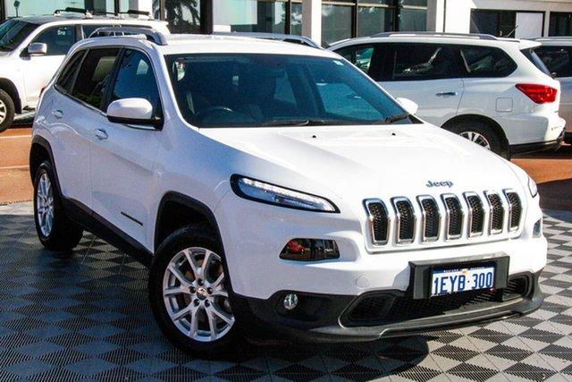Used Jeep Cherokee KL MY15 Longitude Attadale, 2015 Jeep Cherokee KL MY15 Longitude White 9 Speed Sports Automatic Wagon