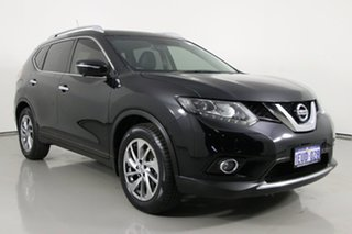 2015 Nissan X-Trail T32 TI (4x4) Black Continuous Variable Wagon.
