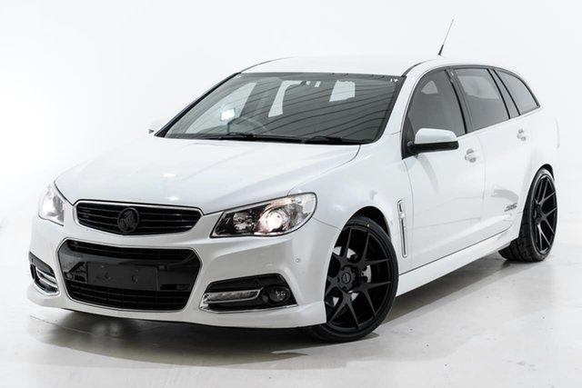 Used Holden Commodore VF MY14 SS V Sportwagon Berwick, 2014 Holden Commodore VF MY14 SS V Sportwagon White 6 Speed Sports Automatic Wagon