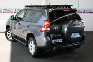 2015 Toyota Landcruiser Prado KDJ150R MY14 GXL Graphite 5 Speed Sports Automatic Wagon.
