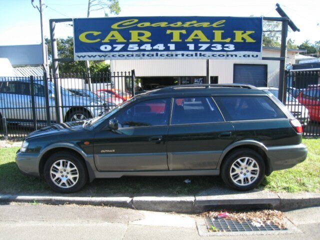 Used Subaru Outback MY03 H6 Nambour, 2003 Subaru Outback MY03 H6 Green 4 Speed Automatic Wagon