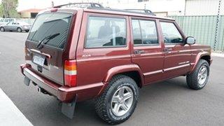 2001 Jeep Cherokee XJ Classic Maroon 4 Speed Automatic Wagon