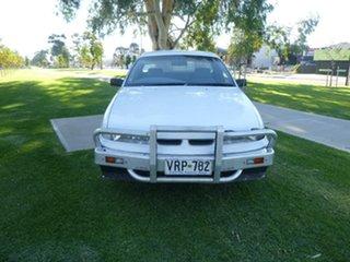 1995 Holden Commodore VS White Automatic Utility.