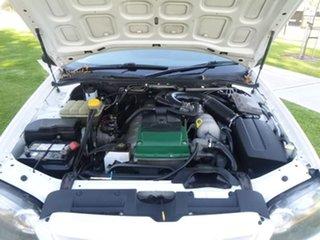 2006 Ford Falcon BF RTV White Automatic Utility