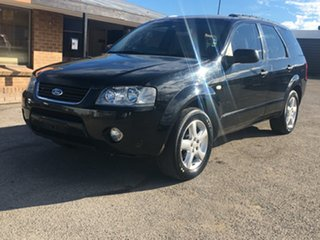2006 Ford Territory SY TS Black 4 Speed Sports Automatic Wagon