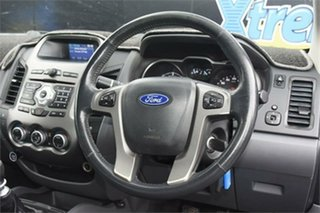 2012 Ford Ranger PX XLT Super Cab Blue 6 Speed Manual Utility