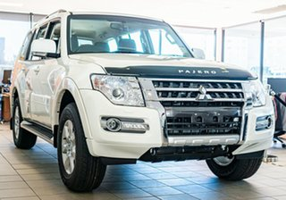 2021 Mitsubishi Pajero NX MY22 GLX Final Edition White 5 Speed Sports Automatic Wagon.