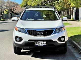 2010 Kia Sorento XM MY10 SI White 6 Speed Manual Wagon.