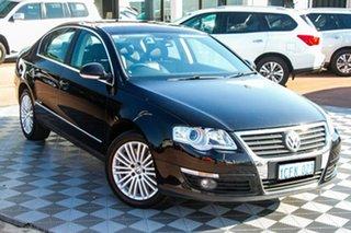 2006 Volkswagen Passat Type 3C V6 DSG 4MOTION FSI Black 6 Speed Sports Automatic Dual Clutch Sedan.