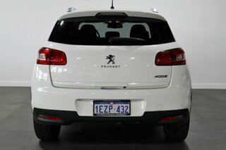 2016 Peugeot 4008 MY15 Active 2WD White 6 Speed Constant Variable Wagon
