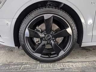 2014 Audi A3 8V MY14 Ambition S Tronic Glacier White 7 Speed Sports Automatic Dual Clutch Sedan.