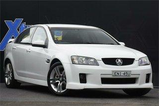 2006 Holden Commodore VE SV6 White 5 Speed Sports Automatic Sedan.