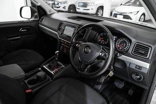 2018 Volkswagen Amarok 2H MY18 TDI550 4MOTION Perm Highline Beige 8 Speed Automatic Utility